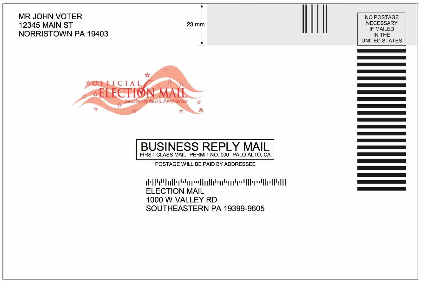 USPS software issues lead to ballot problems in California