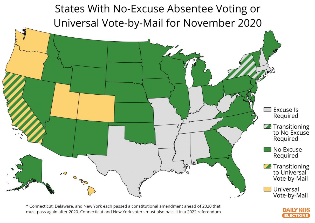 Coronavirus could heavily disrupt election processes. States should prepare by adopting vote-by-mail