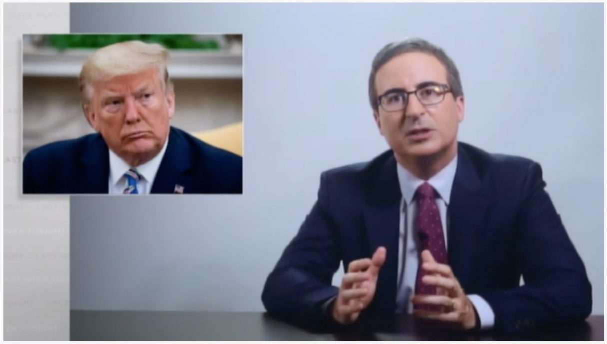 John Oliver looks at Trump's attack on voting by mail